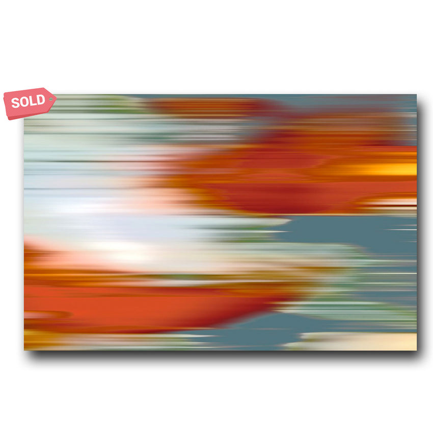 Abstract Koi - Matthew Lew Art Print