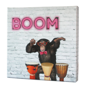 Animal Band: Milo Monkey Print - Matthew Lew Art Print
