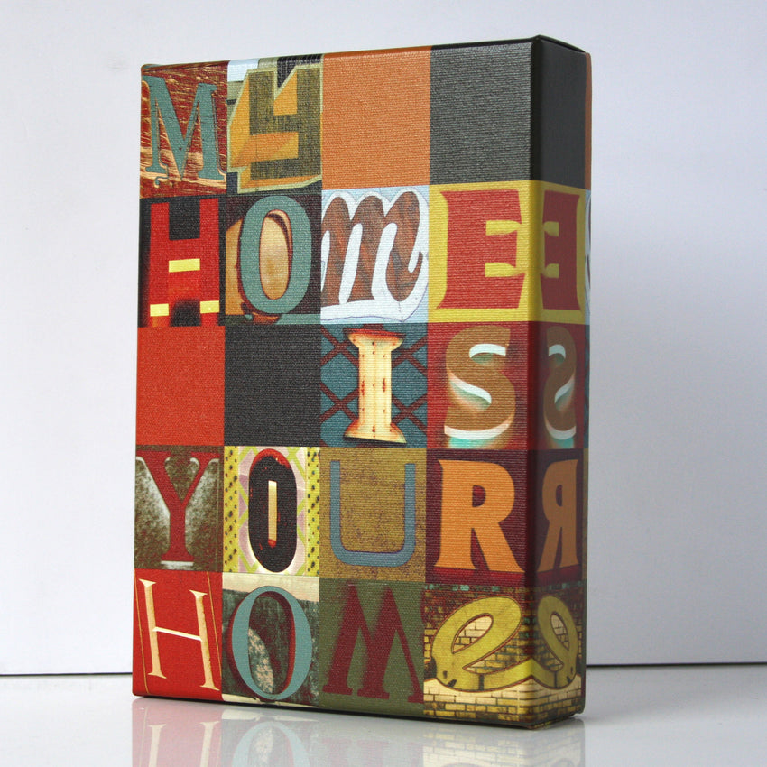 My Home Is Your Home Print - Matthew Lew Art Print