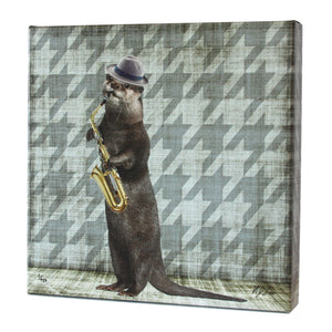 Animal Band: Oliver Otter Print - Matthew Lew Art Print