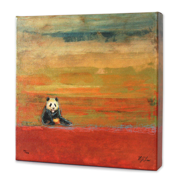 Safari Animal Panda Print - Matthew Lew Art Print