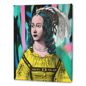 The Queen Print - Matthew Lew Art Print