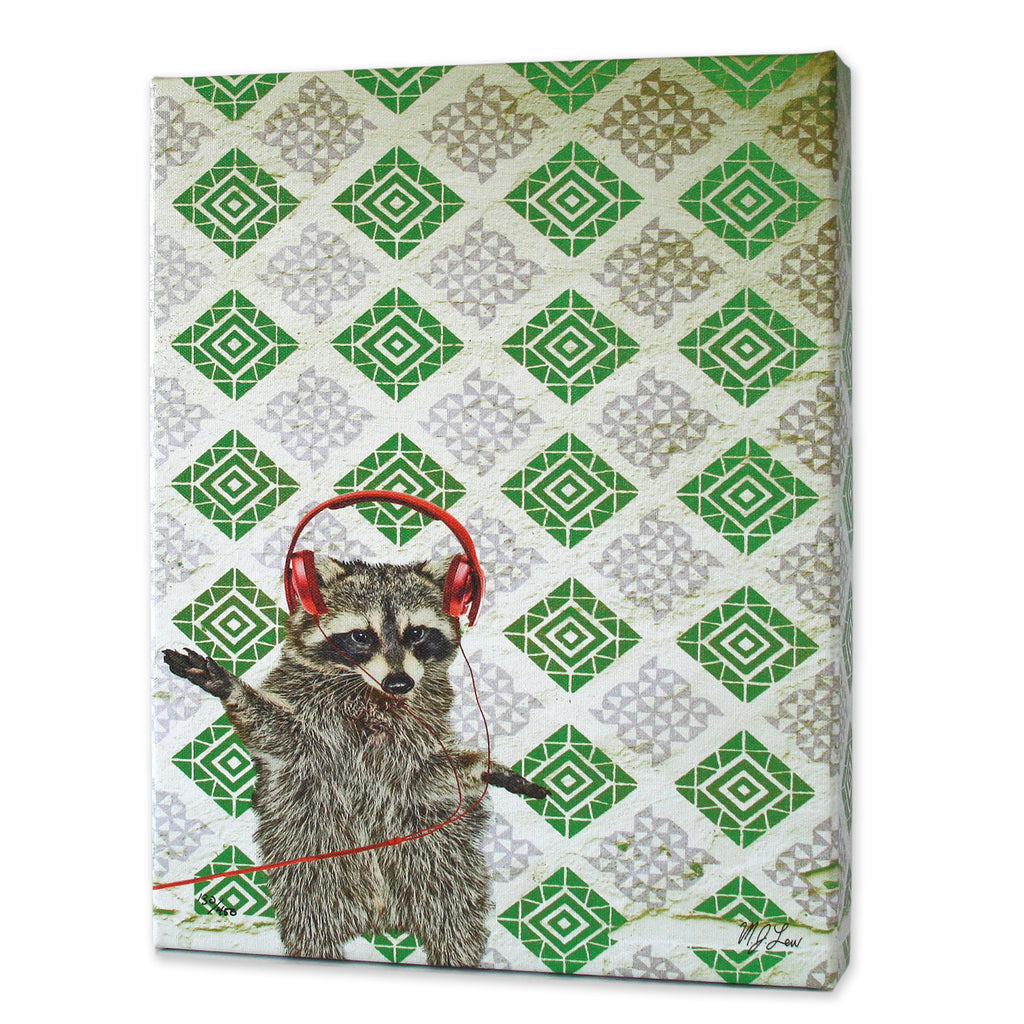 rufus the raccoon print u2013 matthew lew