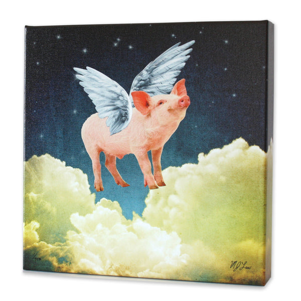 Pigs Can Fly Print - Matthew Lew Art Print