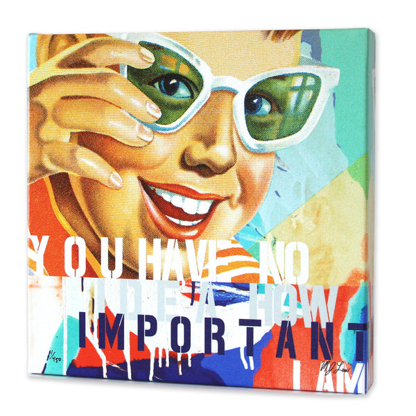 You Have No Idea Print - Matthew Lew Art Print