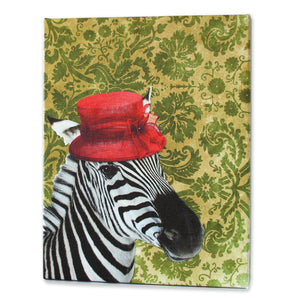 Zoila the Zebra Print - Matthew Lew Art Print