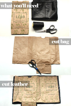 TUTORIAL CUT BAG Take Your Paper Lunch