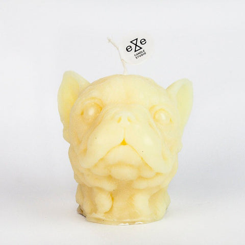 Baby Frenchie Candle