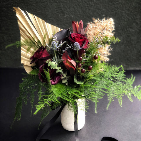 Gothy Valentine's Bouquets by Crown Flora *PRE-ORDER*