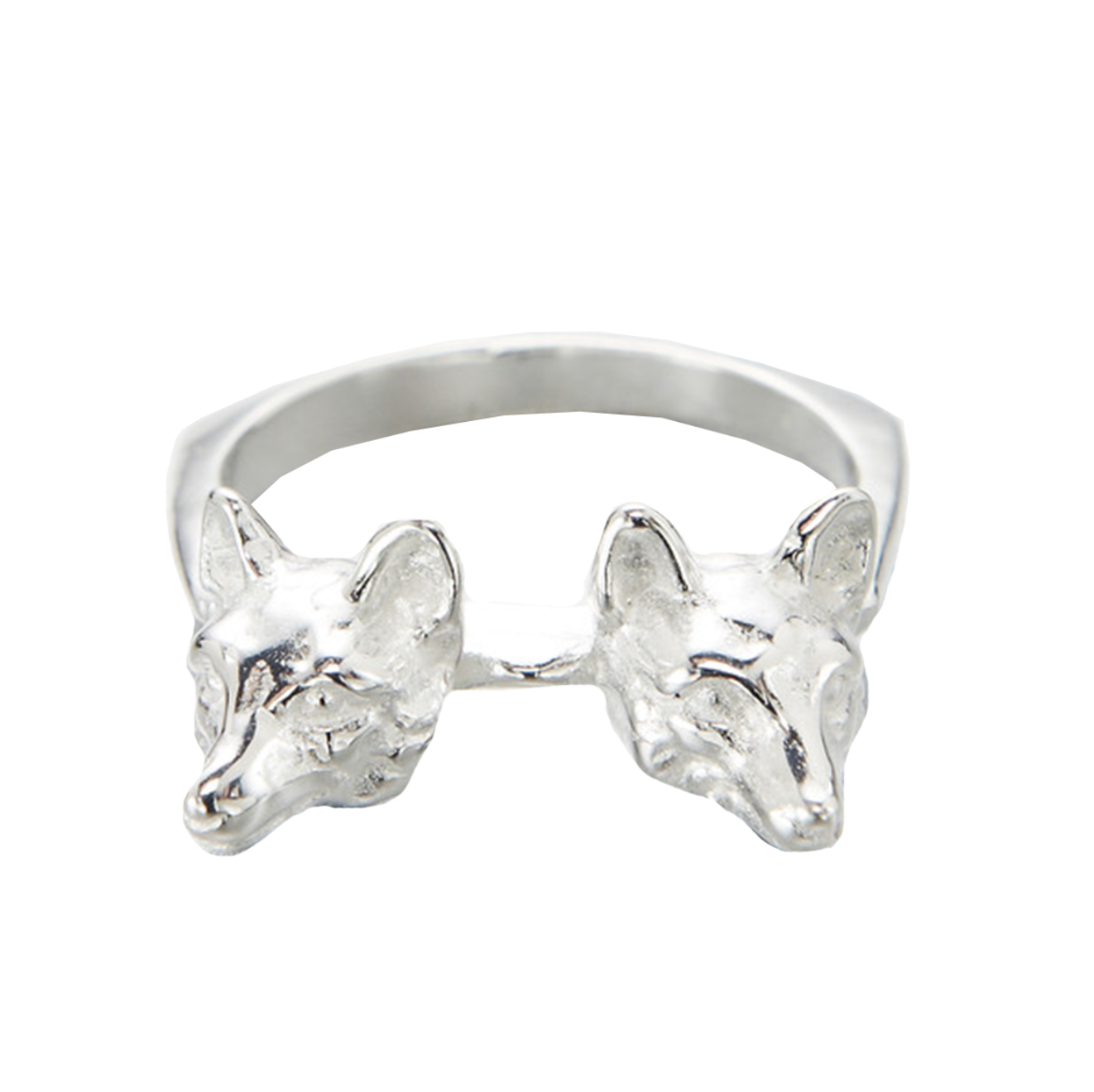 Double Headed Fox Ring