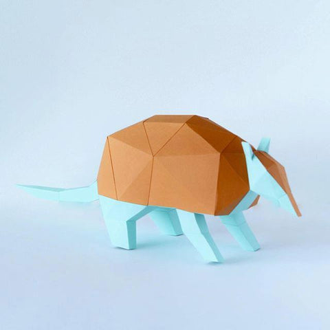 Low Poly Crafts Armadillo Kit