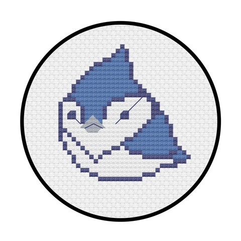 Toronto Jay Cross Stitch Pattern