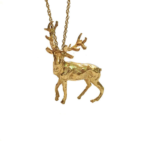 Buck Country Necklace
