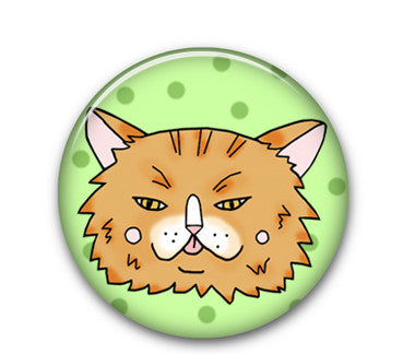 "Gingy Cat 1"" button"