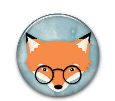 "Mr Fox Mulder 1"" button"