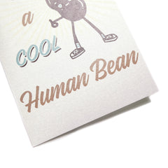 Cool Human Bean Card