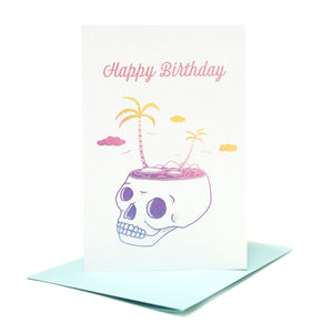 Paraiso Birthday Card