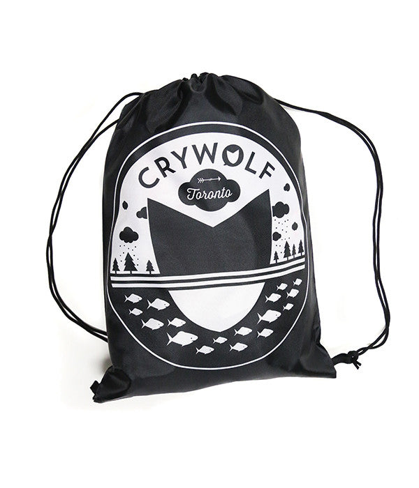 Landscape Logo Drawstring Cinch Sack