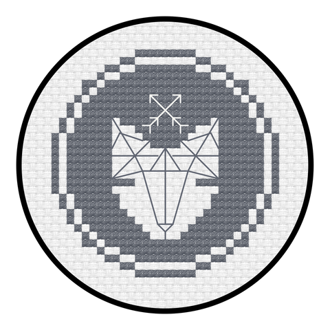 Diamond Logo Cross Stitch Pattern