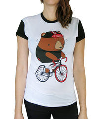 Fixie Bear Tshirt