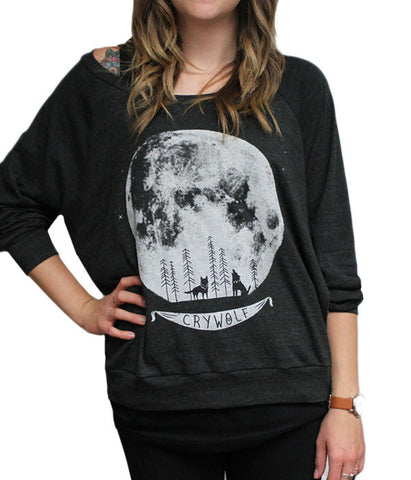Howling Moon Light Sweatshirt