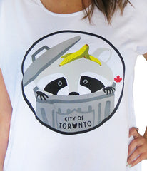 Toronto Raccoon Oversized Tee