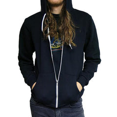 Blue Moon Zip Up Hoodie