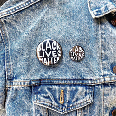 Black Lives Matter Buttons