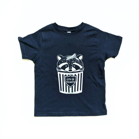 Kids Toronto Raccoon Tshirt