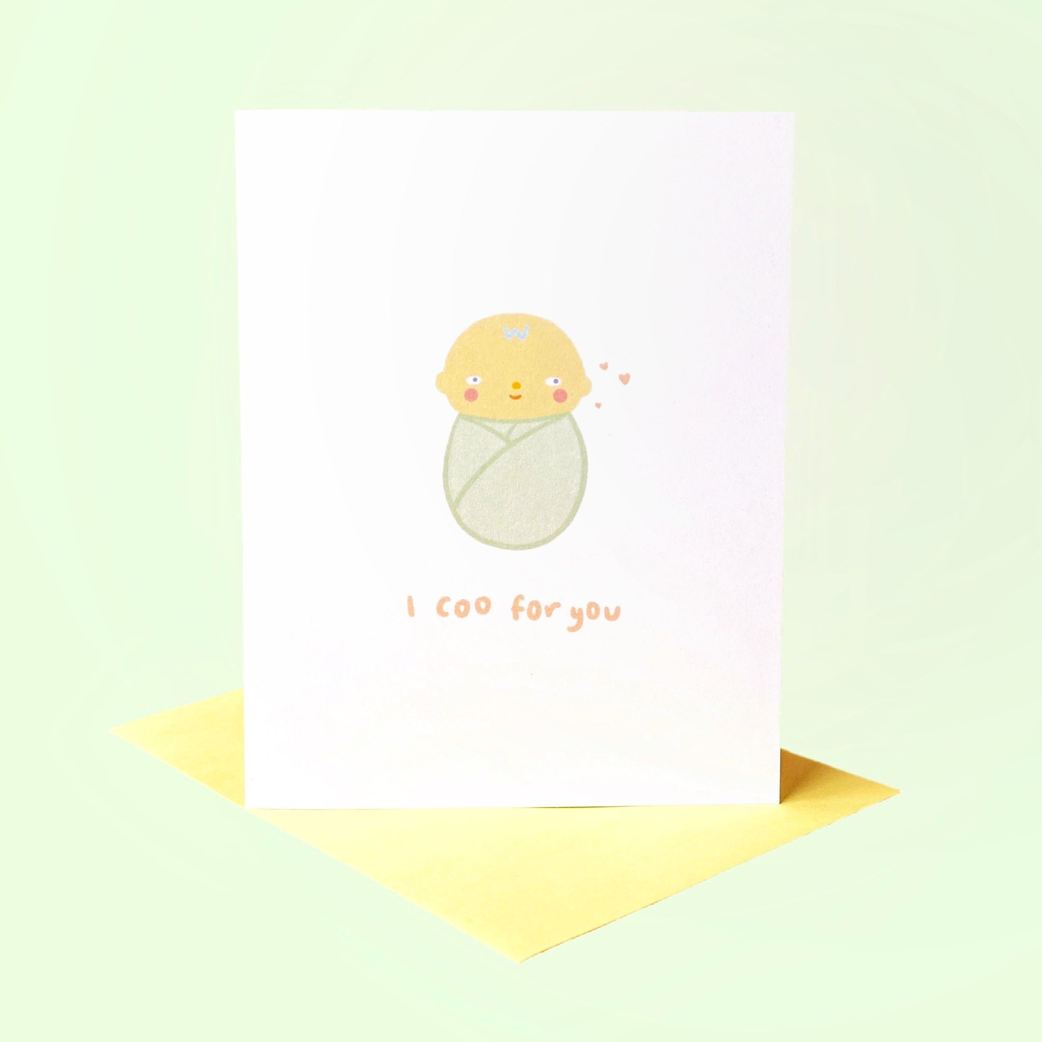 I Coo For You Card