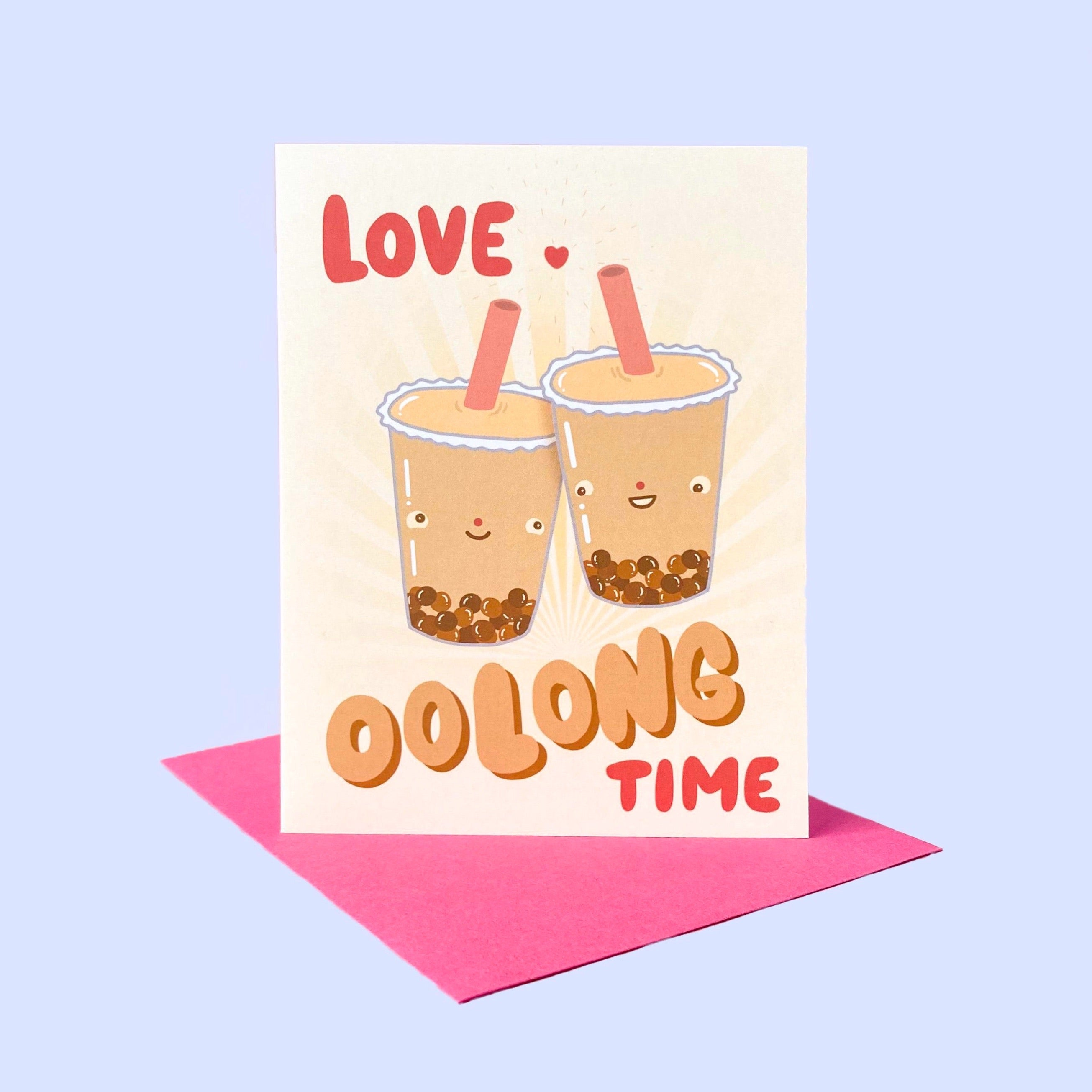 Love Oolong Time Card