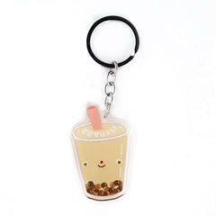 Bubble Tea  Acrylic Keychain