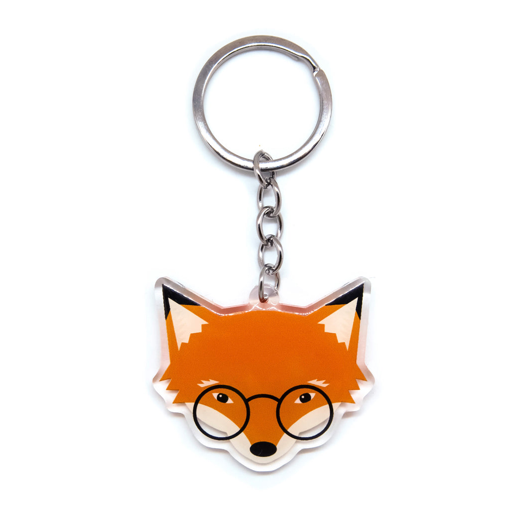 Mr. Fox Acrylic Keychain