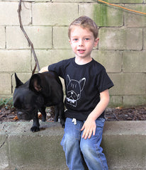 Kids Bowtie Frenchie Tshirt