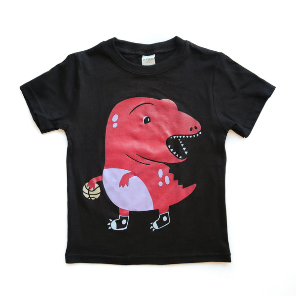 Kids Clumsy Raptor Tshirt