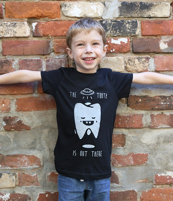 Kids The Tooth Is Out There Tshirt