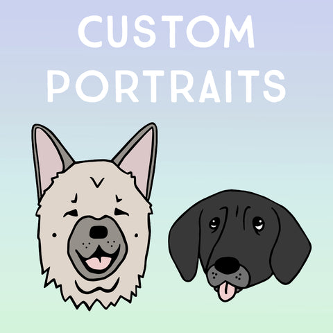 Custom Portrait ~ Furry Friend, Person or Thing
