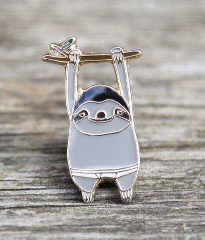 BB Sloth Lapel Pin