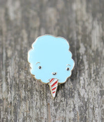 Bluey Cotton Candy Lapel Pin