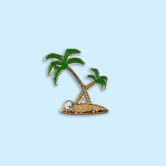 Golden Palms Lapel Pin