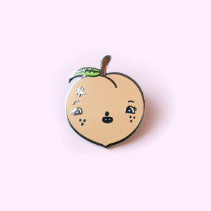 Just Peachy Lapel Pin