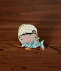 Mermaid Chloe Lapel Pin