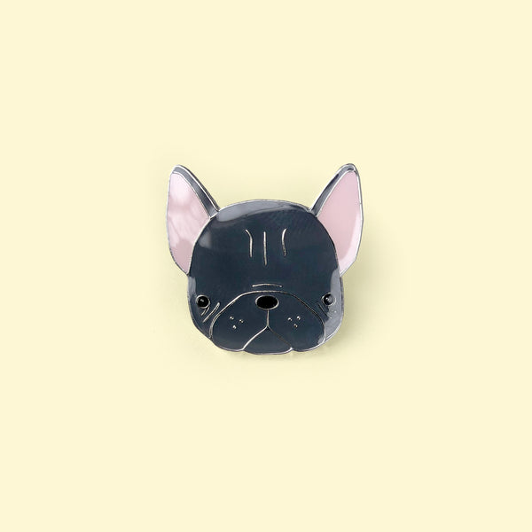 Monzie Frenchie Lapel Pin