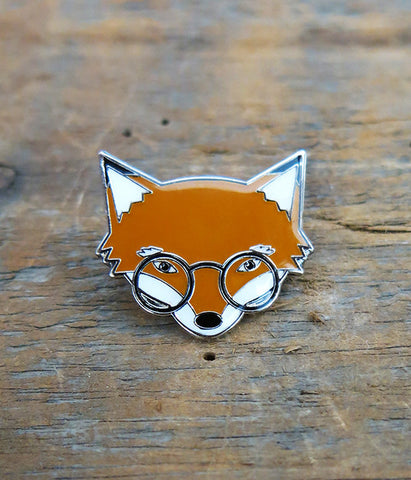 Mr. Fox Lapel Pin