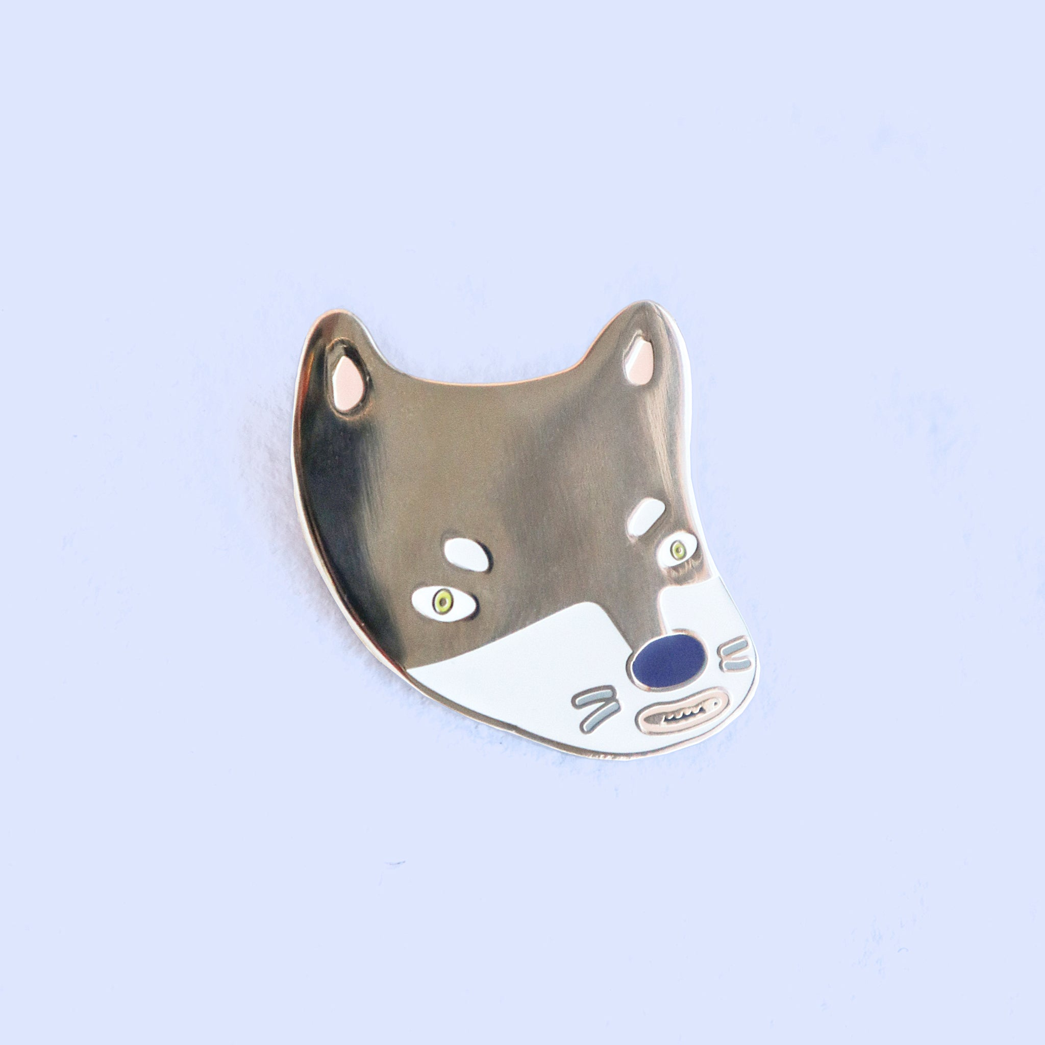 New Wolf in Town Lapel Pin