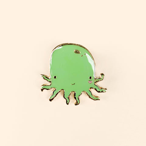 Octolove Lapel Pin