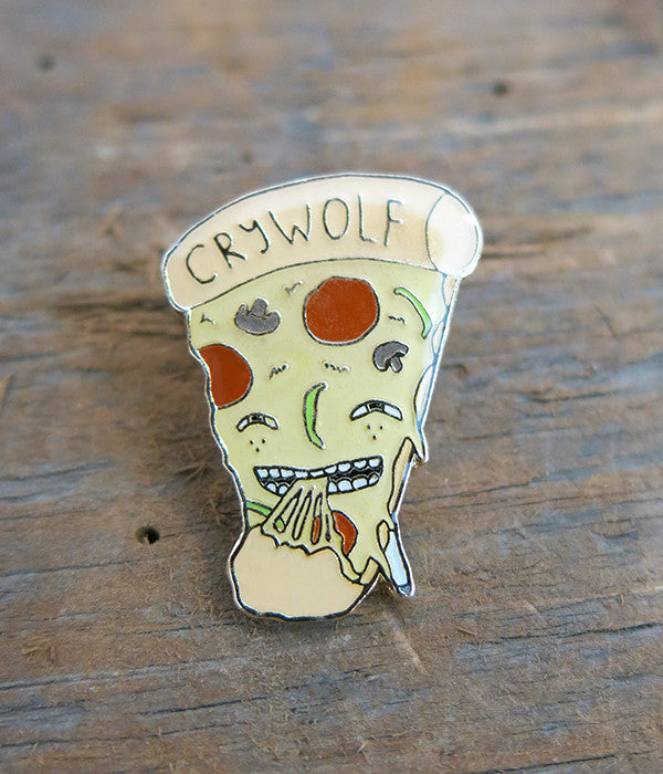Pizza Lapel Pin