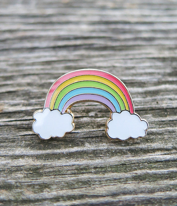 Rainbow Lapel Pin
