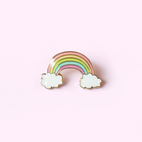 Rainbow Pastel Lapel Pin