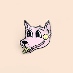 Teen Wolf Pink Lapel Pin